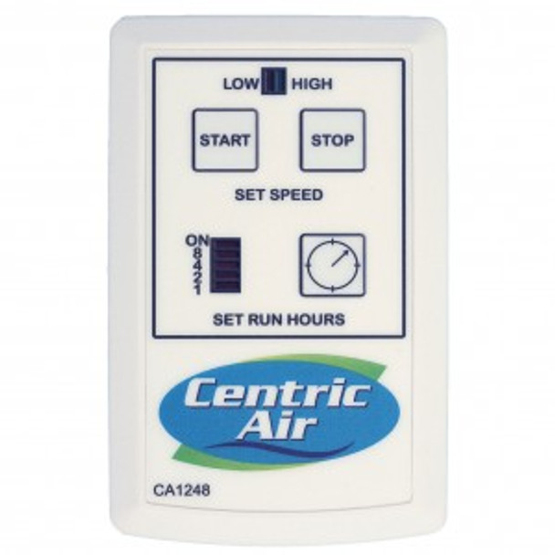 Optional 2-Speed Remote for Centric Air: 1.5,  2.0,  2.7,  3.4  &  4.0