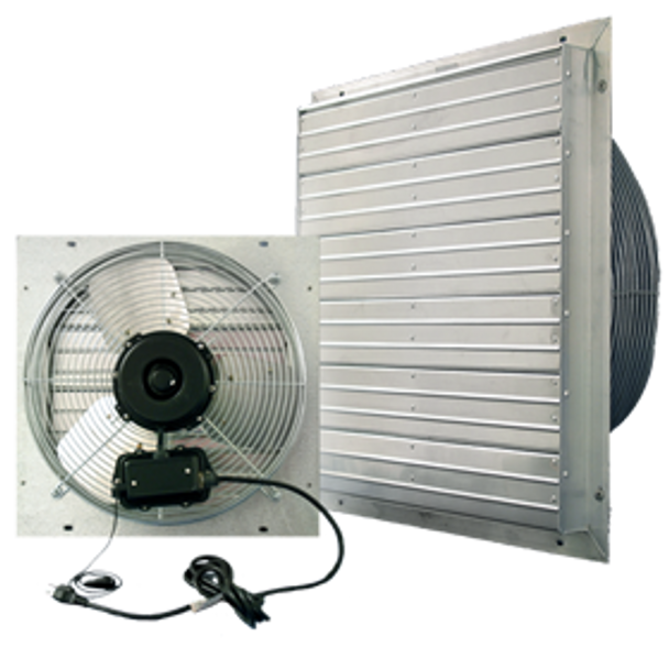 Indoor/Outdoor ES Shutter Fan