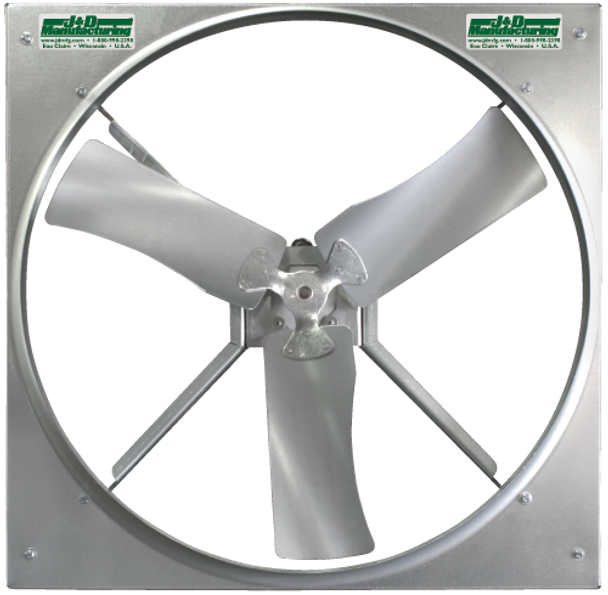"""A9 - J&D PANEL FANS 24"""" &  36"""" 