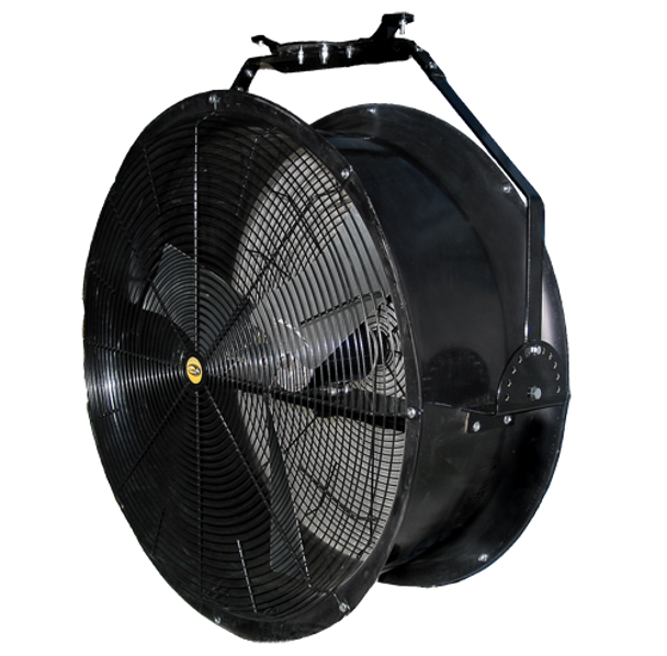 "A7 - J&D POLY CHILLER DRUM FAN | Sizes 24"" & 36""  4,890-10,120 CFM,  Gold Medal Air Circulator, Optional Misting/Fogging Systems 