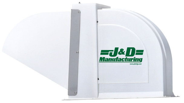 """A6 - J&D ROOF-TOP RIDGE FAN - 24"""" 