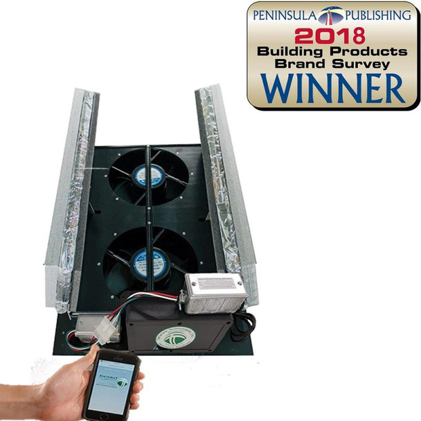 TAMARACK WI-FI HV1000 WR50 WHOLE HOUSE FAN SELF SEALING INSULATED DOORS TTI-HV1000-WR50 (Click to View Details)  (Call for FREE Expert Advice & Additional Discounts)