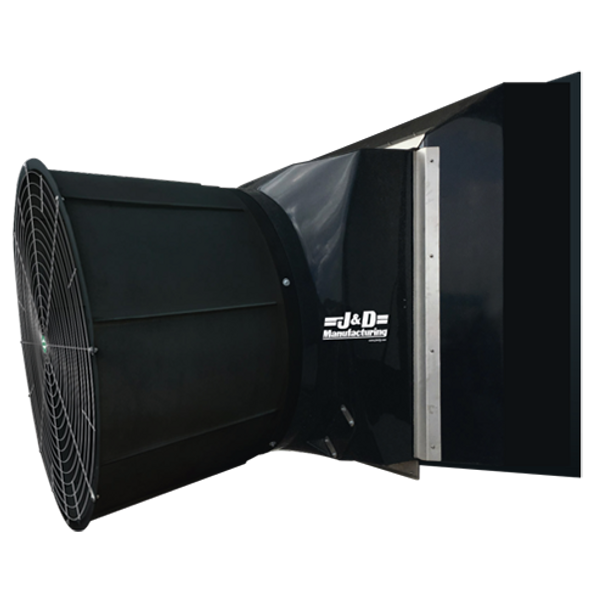 "A3 -J&D LIGHT TRAP COMBINATION SYSTEMS TORNADO & STORM MODELS | 55"" & 36"" Fans 115/230v & 230/460v  