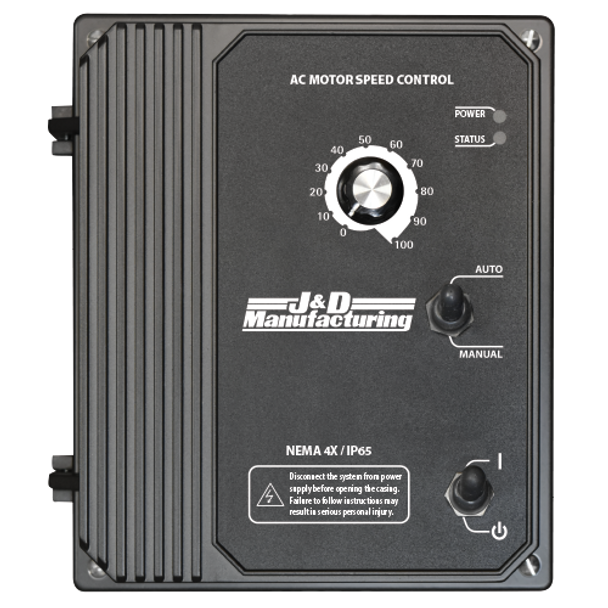 JD VFD (VARIABLE FREQUENCY DRIVE) |  J&D's VFD has a signal isolator which allows a 0-10V or a 4-20 milliamp signal to change the speed of the Fan Motor.  | VFD480V03030B (CLICK TO VIEW CUT SHEET & DETAILS)  (CALL FOR FREE EXPERT ADVICE & PRICING)