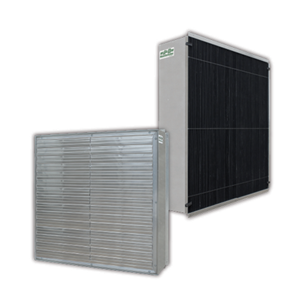 """J&D Power Intake Shutters with Light Traps  60"""", 54"""" & 48"""" Shown in picture 