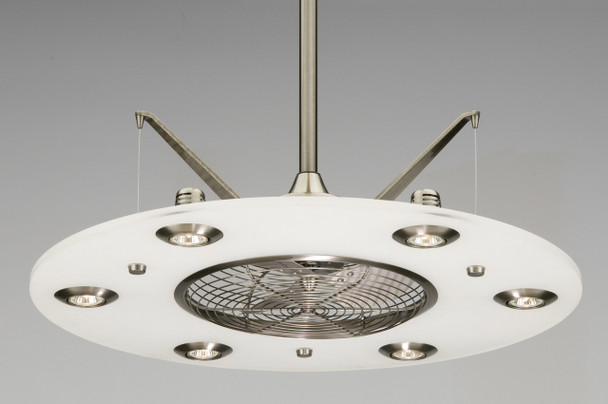 FANIMATION - CUMULOS: 58 WATTS PEWTER, SATIN NICKEL BLADE (CLICK TO VIEW DETAILS OR CALL FOR FREE EXPERT ADVICE & PRICING)