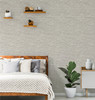 Grey Faux Grasscloth Peel & Stick Wallpaper GW2005W Grace & Gardenia