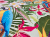 GW2111 Parrot Jungle Leaves Peel and Stick Wallpaper Roll 20.5 inch Wide x 18 ft. Long, Multicolor