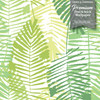 GW2164 Abstract Palms Peel and Stick Wallpaper Roll 20.5 inch Wide x 18 ft. Long, Green
