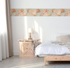 GB10021 Seashells Peel and Stick Wallpaper Border 10in Height x 18ft Long Blue/Green