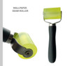 """Grace and Gardenia Wallpaper Smoothing Tool Kit: Includes Tape Measure, Large Squeegee, pro squeegee with felt edge, Rubber Hand with professional 2"""" Extra Large Rollers and Wallpaper Utility Knife"""