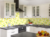 GW5151 Grace & Gardenia Lemons with Leaves Peel and Stick Wallpaper Roll 20.5 inch Wide x 18 ft. Long, Yellow Green