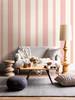 A-Street Prints by Brewster 1014-001831 Kismet Brynn Pink Paisley Stripe Wallpaper