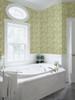 Brewster 2532-20613 Bath Bath Bath IV Linnea Green Botanical Trail Wallpaper