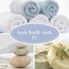 Brewster 2532-20412 Bath Bath Bath IV Monroe Aquamarine Modern Floral Wallpaper