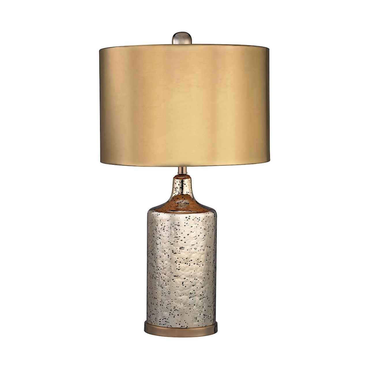 Image of: Gold Mercury Table Lamp Elk D2774 Antique Gold The Savvy Decorator