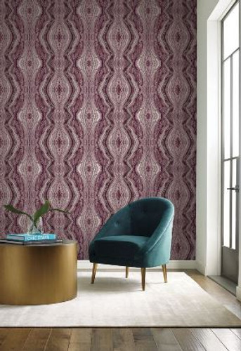 NEW! York Wallcoverings Kaleidoscope Wallpaper from  Antonina Vella Elegant Earth Collection