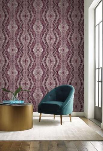 NEW! York Wallcoverings Kaleidoscope Wallpaper from  Antonina Vella Elegant Earth Collection