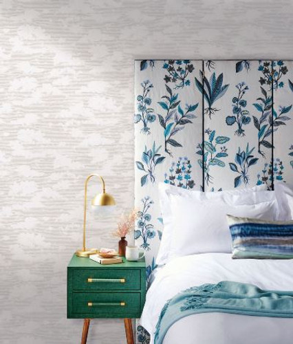 NEW! York Wallcoverings Silouhettes Collection. Dahlia Trail and Cloud Cover Wallpapers
