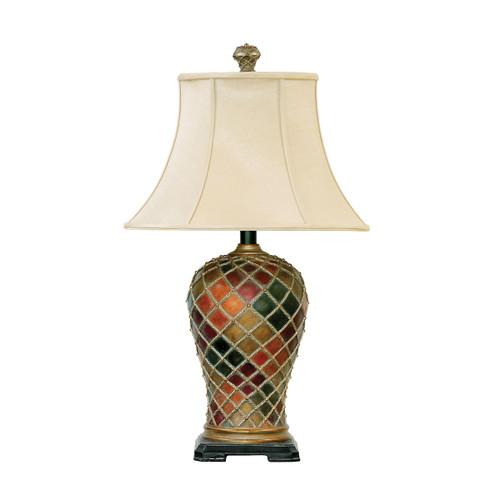 Dimond lighting by Elk 91-152 Joseph 1 Light Table Lamp in Bellevue Finish