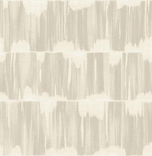 A-Street Prints by Brewster 2764-24345 Mistral Serendipity Beige Shibori Wallpaper