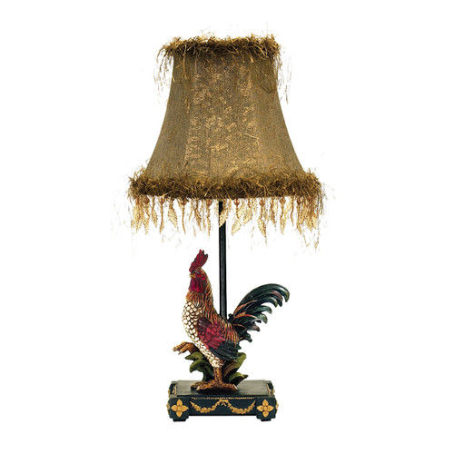 Dimond lighting 7-208 Petite Rooster Table Lamp in Ainsworth Finish Ainsworth