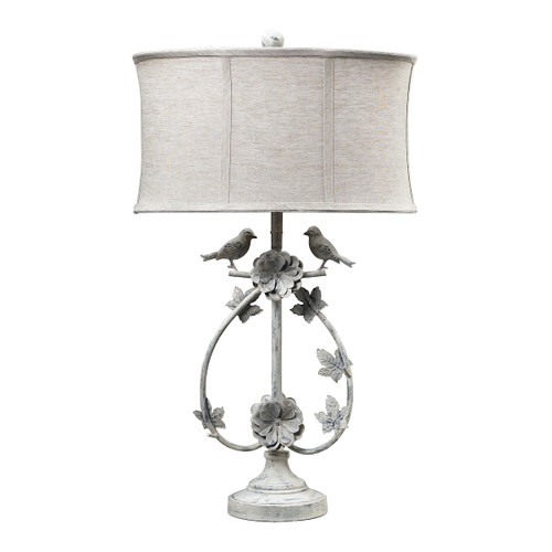 Dimond lighting 113-1134 Saint Louis Heights Table Lamp in Antique White