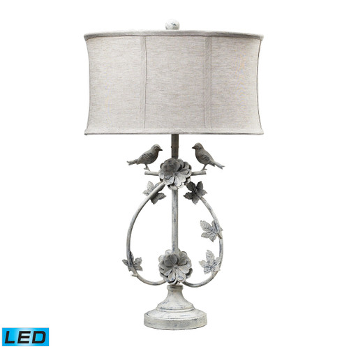 Dimond lighting 113-1134-LED Saint Louis Heights LED Table Lamp in Antique White