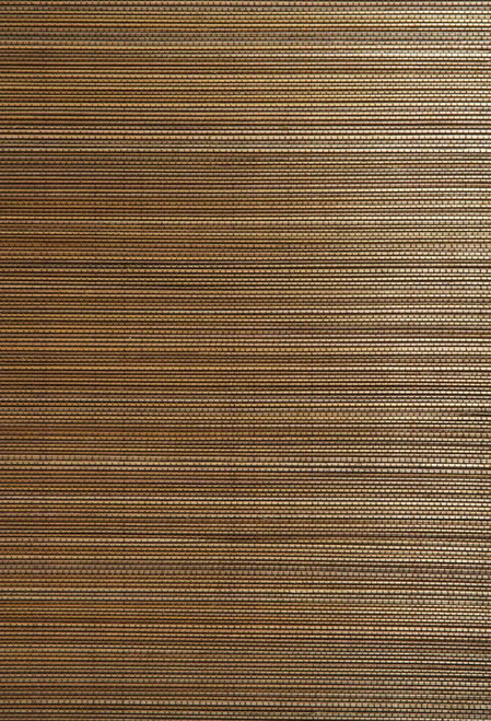 Kenneth James by Brewster 63-54714 Shangri La Fen Chen Brown Grasscloth Wallpaper