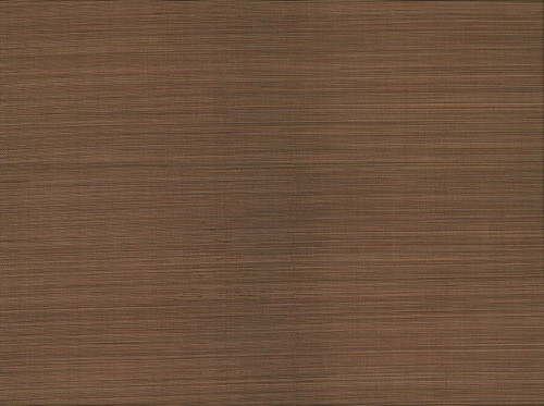 Kenneth James by Brewster 63-54718 Shangri La Fen Xue Fang Dark Brown Grasscloth Wallpaper