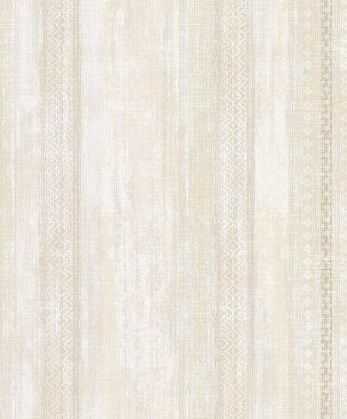 Brewster 2810-SH01082 Advantage Blair Yellow Ikat Stripe  Wallpaper Yellow