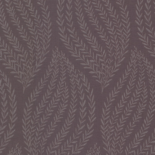 Kenneth James by Brewster 671-68510 Naturale Calix Purple Sienna Leaf Wallpaper