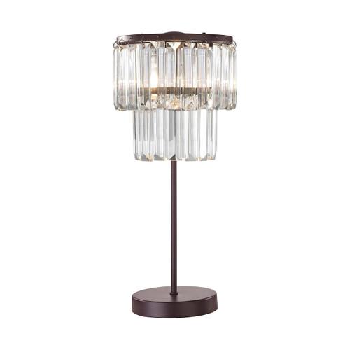 Antoinette 1 Light Table Lamp In Bronze Dimond lighting by ELK D3014 Bronze