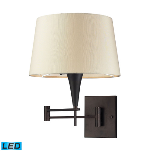 Swingarms 1 Light LED Sconce In Aged Bronze by Elk 10292/1-LED