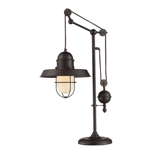 Dimond lighting 65072-1 Farmhouse Table Lamp In Oiled Bronze Oiled Bronze