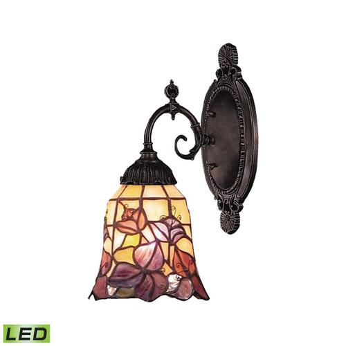 Mix-N-Match 1 Light LED Wall Sconce  ELK 071-TB-17-LED Tiffany Bronze