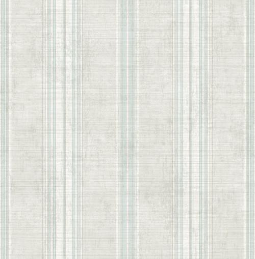 Allure Stripe Wallpaper in Clouded Blue VA11308 from Wallquest