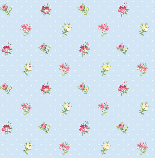 Pick A Posy Wallpaper in Primary HC81811 from Wallquest