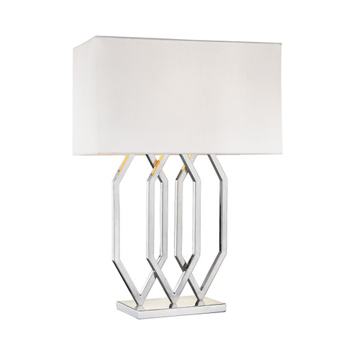 Dimond lighting 1141-004 Munich 1 Light Table Lamp In Polished Nickel
