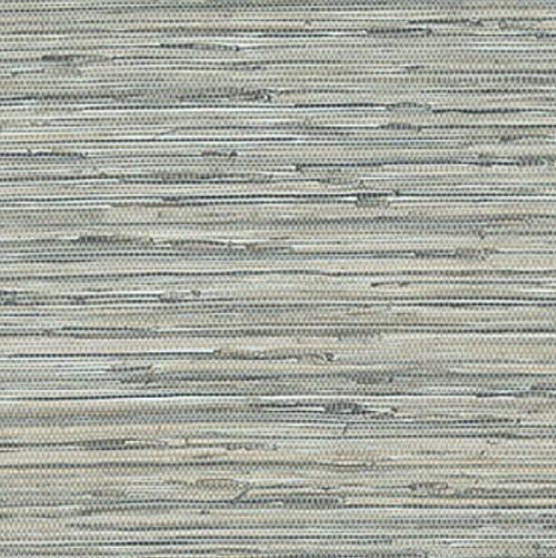 Grace & Gardenia G5008 Faux Grasscloth Wallpaper, Blue,Tan