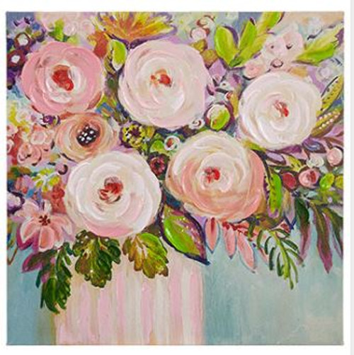 Flowers in Vase Wall Art 15.75""