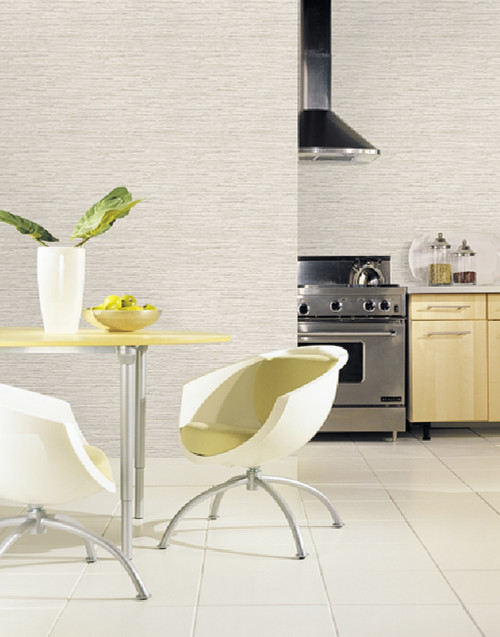 Grace & Gardenia G5015 Faux Grasscloth Wallpaper Grey
