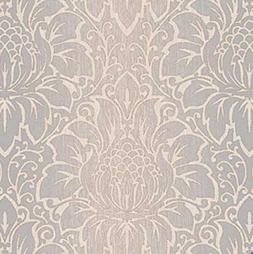 Grace & Gardenia Damask Wallpaper