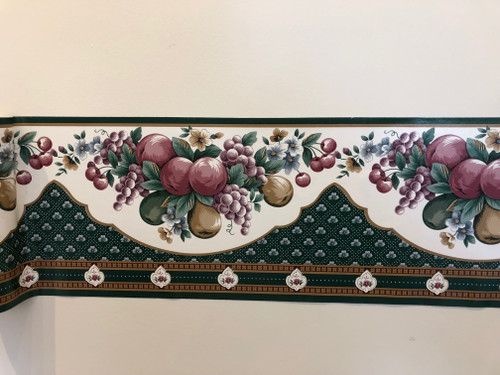 Wallpaper Border 58/4679 Fruit and Flowers Peel and Stick