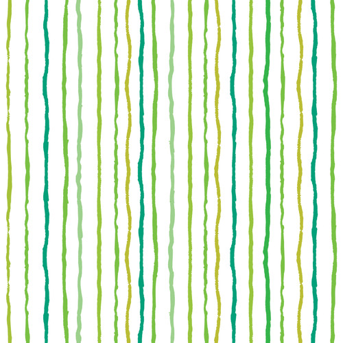 """GP190081 - Grace & Gardenia Multi-color Vertical Paint Lines Premium Peel and Stick Wallpaper Panel 6 Ft High x 26"""" Wide Green Yellow Teal"""