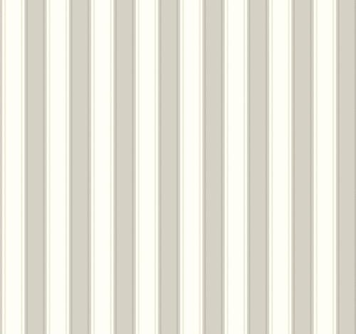 York Wallcoverings Ashford Stripes SA9160 Silk Stripe Wallpaper, Grey, White