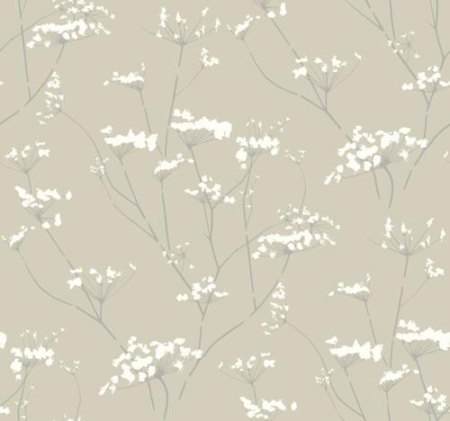 York Wallcoverings NA0599 Enchanted Wallpaper Tan