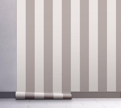 GP1900271 Gray Striped Wallpaper