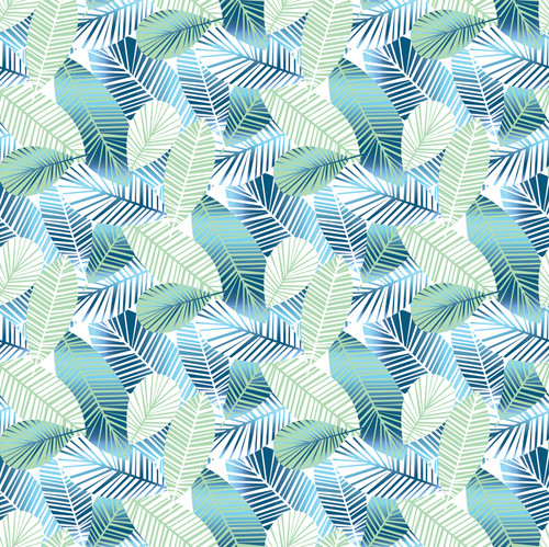 """GP1900202 Shimmering Leaves Small Premium Peel and Stick Wallpaper Panel 6 Ft High x 26"""" Wide"""