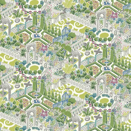 York Wallcoverings GP5934 Waverly How Does Your Garden Wallpaper  Meadow Greens